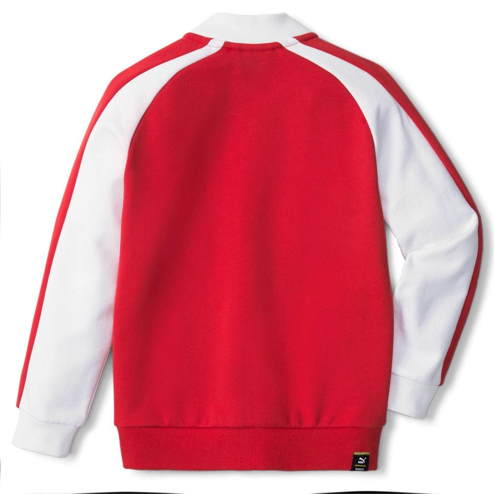 Изображение Puma Детская олимпийка PUMA x PEANUTS Kids' Track Jacket #2: Urban Red