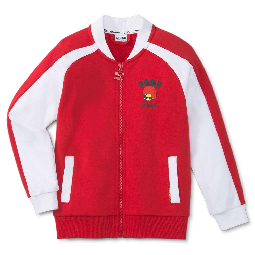Изображение Puma Детская олимпийка PUMA x PEANUTS Kids' Track Jacket #1: Urban Red