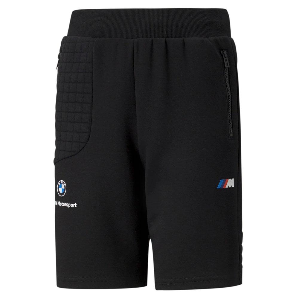 Изображение Puma Детские шорты BMW M Motorsport Youth Sweat Shorts #1
