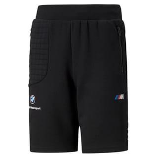 Изображение Puma Детские шорты BMW M Motorsport Youth Sweat Shorts