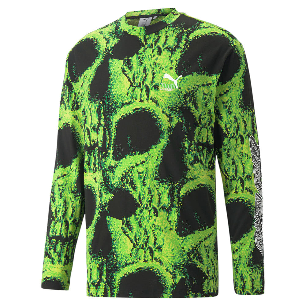 Görüntü Puma PUMA x SANTA CRUZ Baskılı Uzun Kollu T-shirt #1