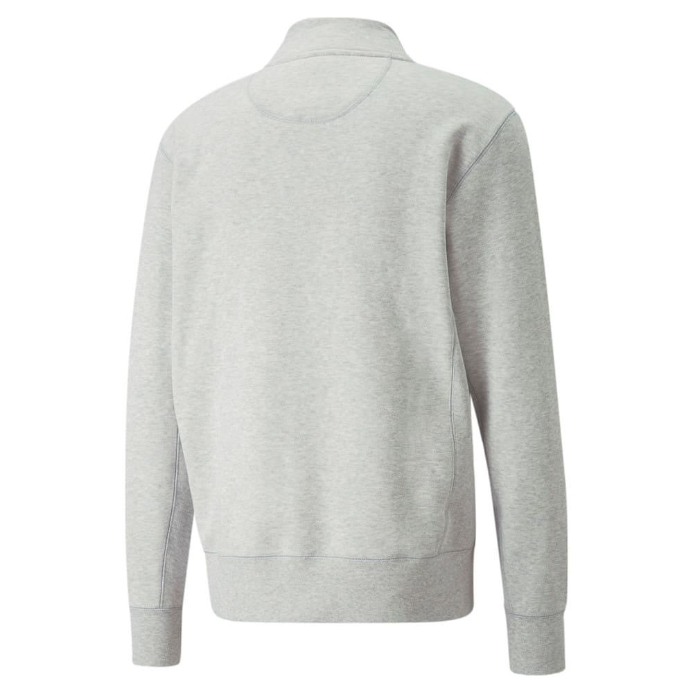 Изображение Puma Толстовка MMQ Mock Neck Sweater #2: Light Gray-Heather BC02