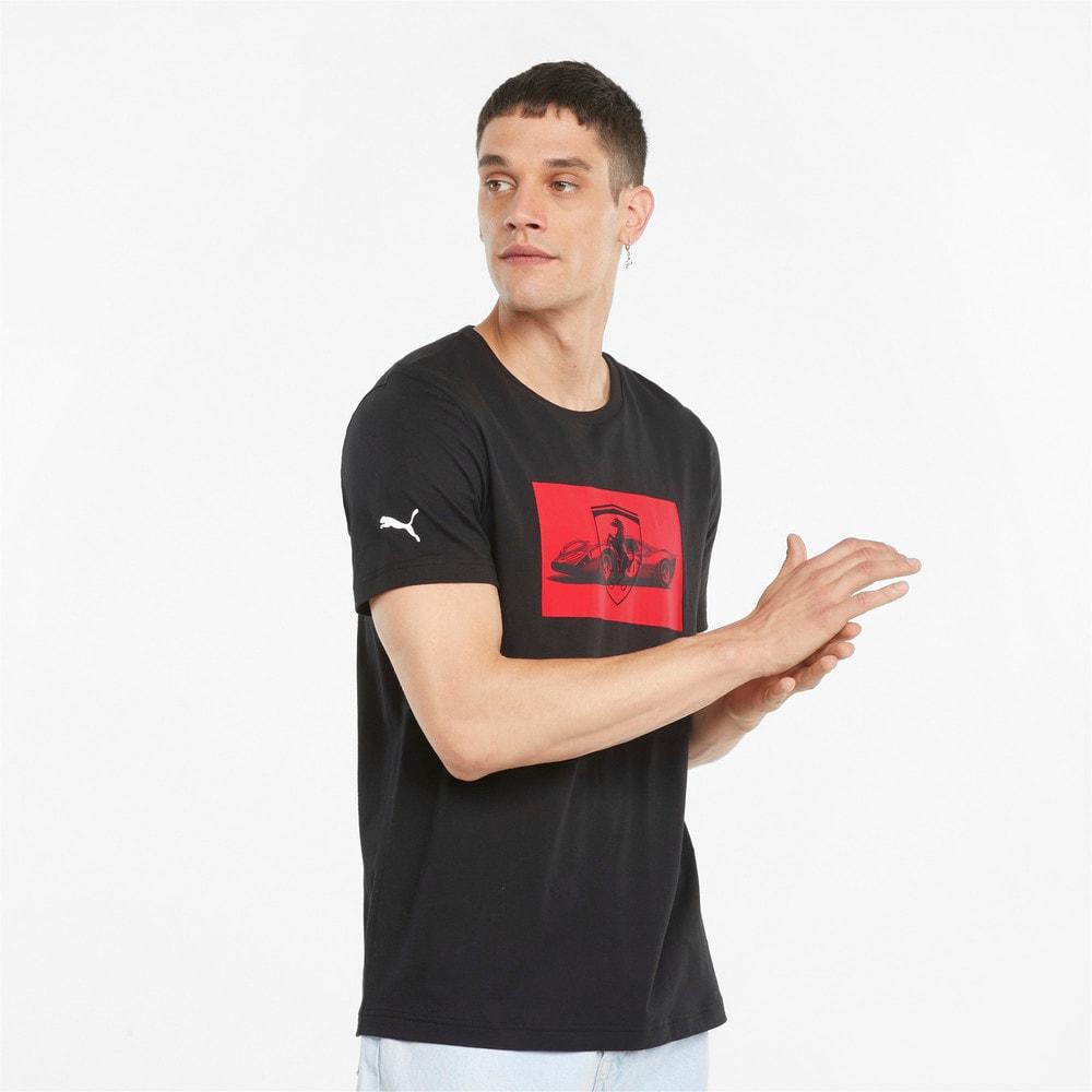Görüntü Puma SCUDERIA FERRARI Race Motorsport Grafikli Erkek T-shirt 2 #1