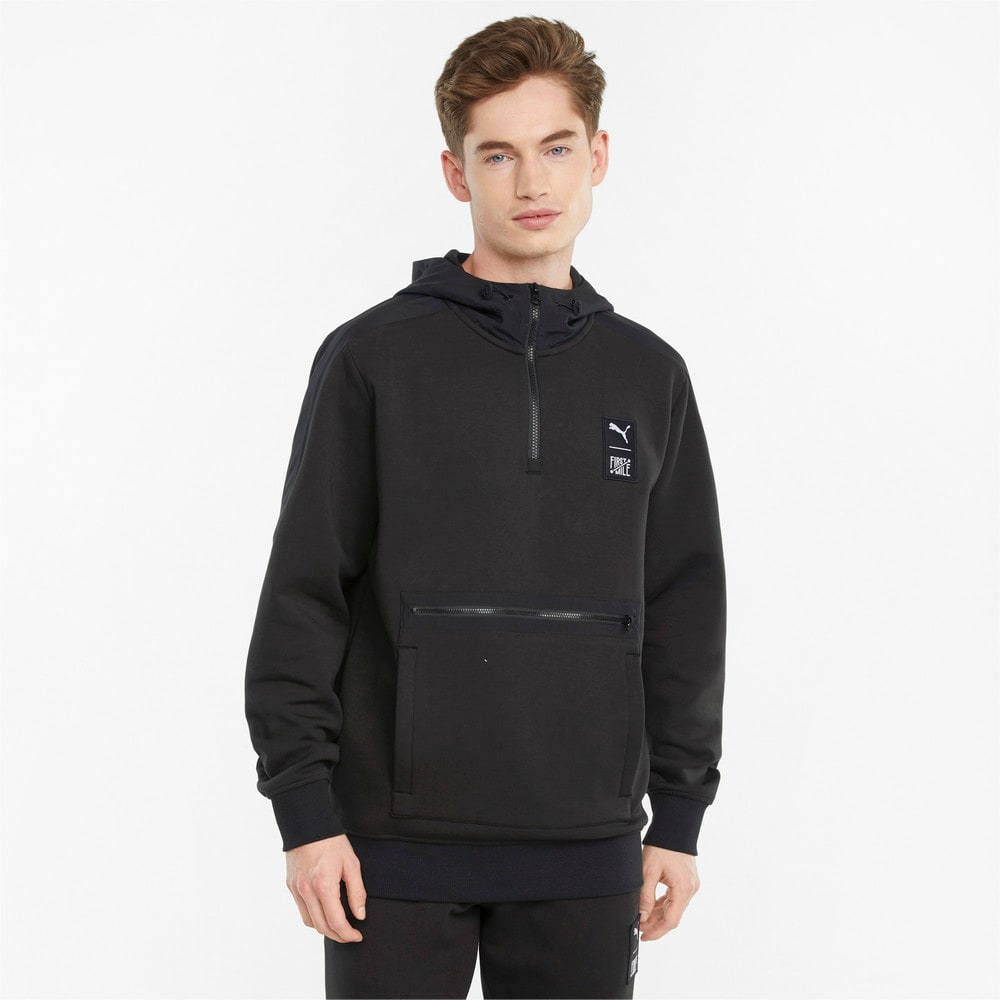 Image Puma PUMA x FIRST MILE Double Knit Men's Hoodie #1