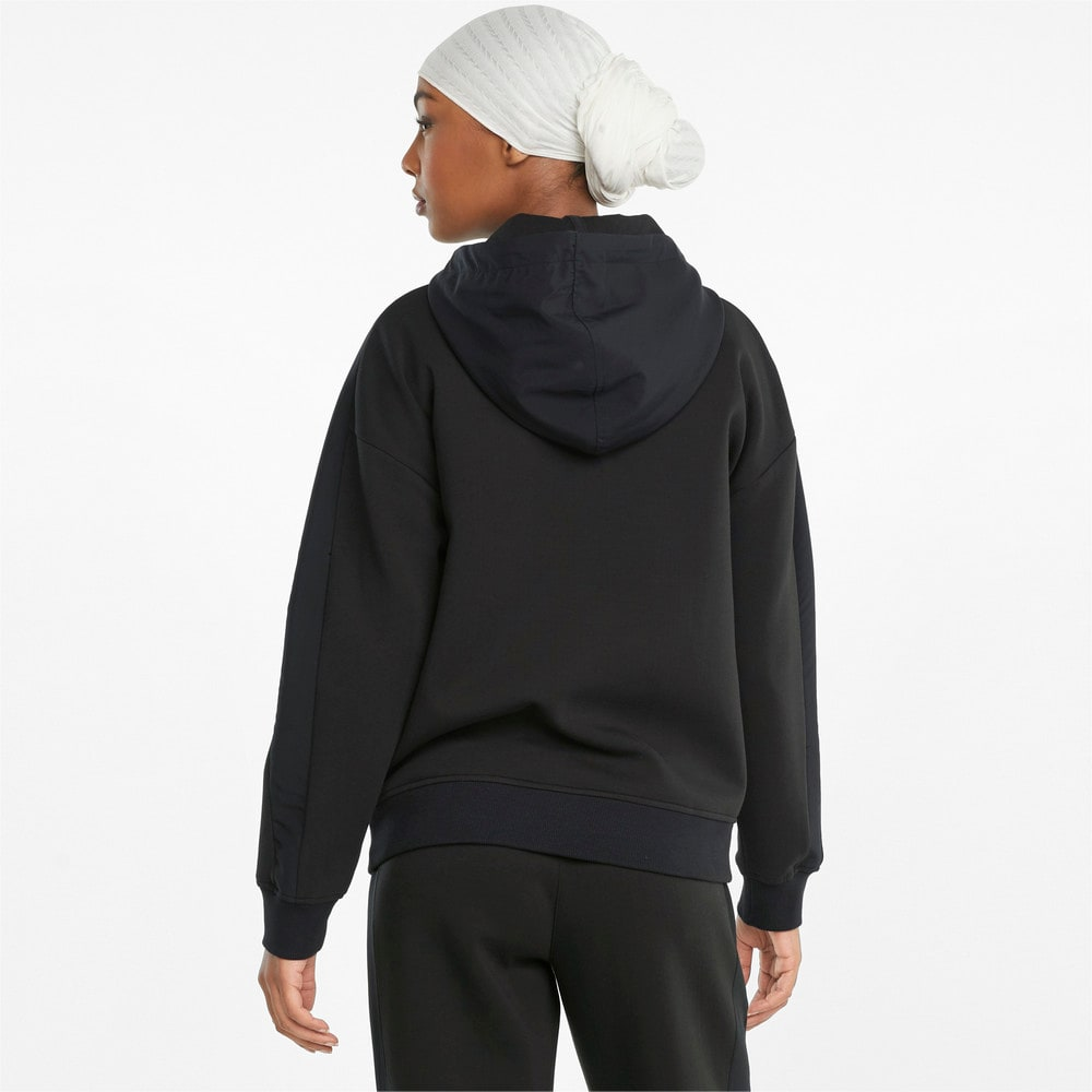 Зображення Puma Толстовка PUMA x FIRST MILE Double Knit Women's Hoodie #2: Puma Black