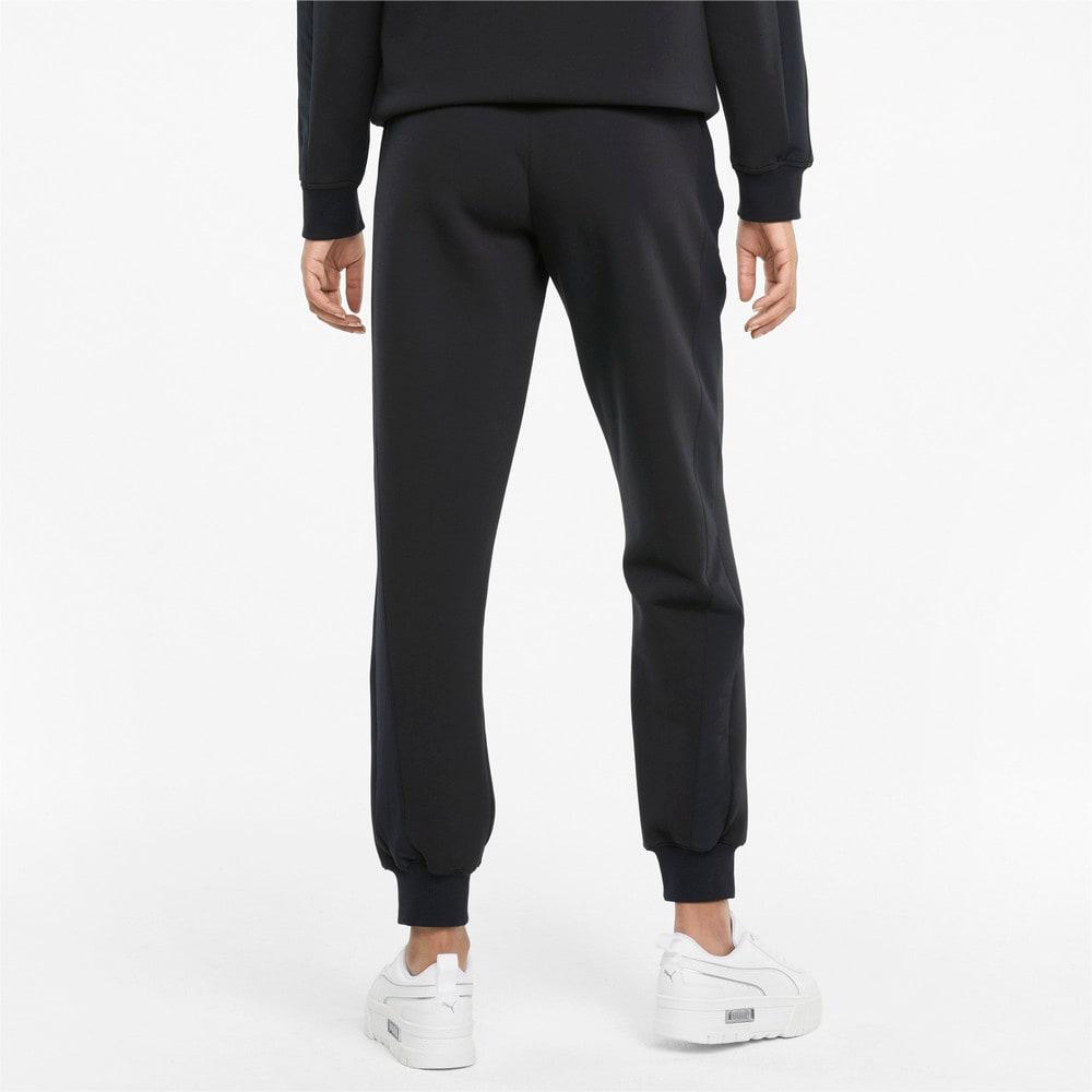 Изображение Puma Штаны PUMA x FIRST MILE Double Knit Women's Jogger Pants #2: Puma Black
