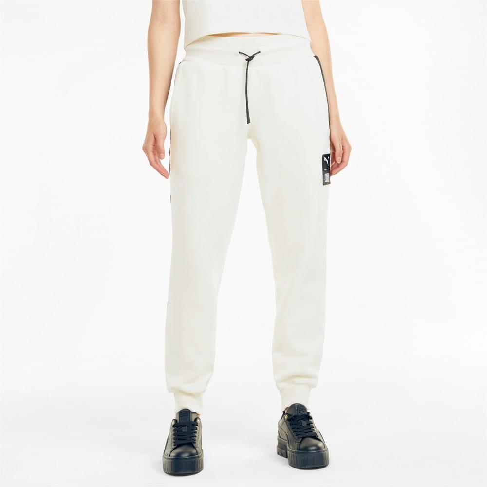 Зображення Puma Штани PUMA x FIRST MILE Double Knit Women's Jogger Pants #1: Ivory Glow
