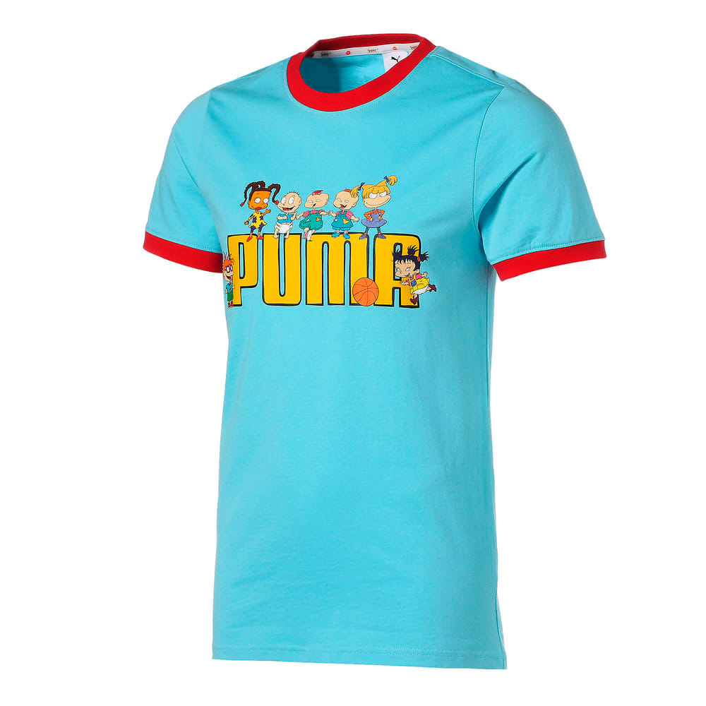 Görüntü Puma PUMA x RUGRATS Kısa Kollu Erkek Basketbol T-shirt #1