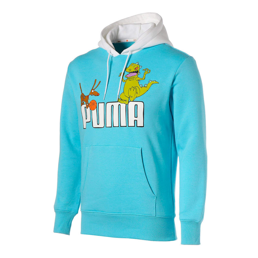 Görüntü Puma PUMA x RUGRATS Erkek Basketbol Kapüşonlu Sweatshirt #1