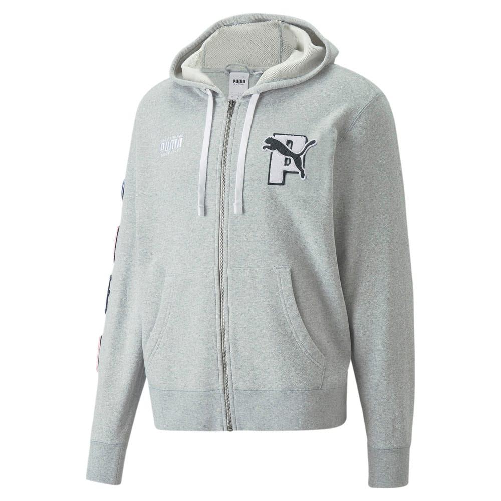 Зображення Puma Толстовка PUMA x PUMA Full-Zip Hoodie #1: light gray heather