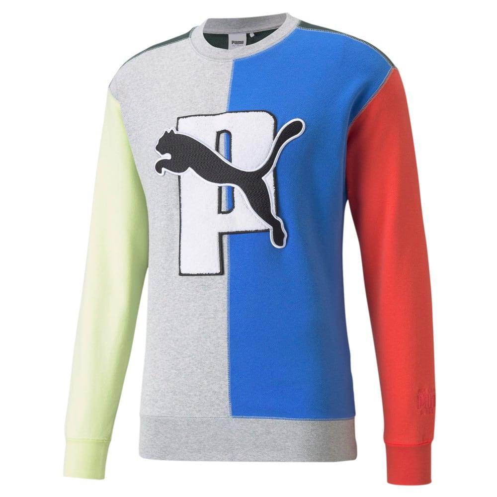 Зображення Puma Толстовка PUMA x PUMA Split Crew Neck Sweatshirt #1: Bluemazing