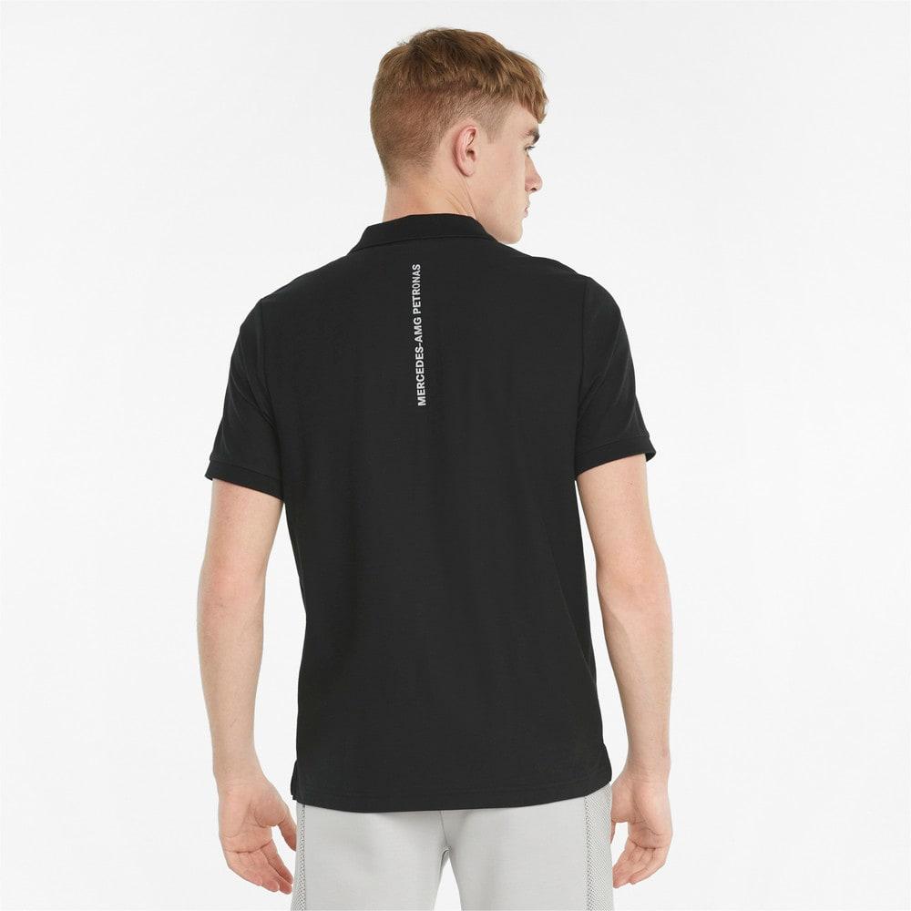 Зображення Puma Поло Mercedes F1 Men's Polo Shirt #2: Puma Black
