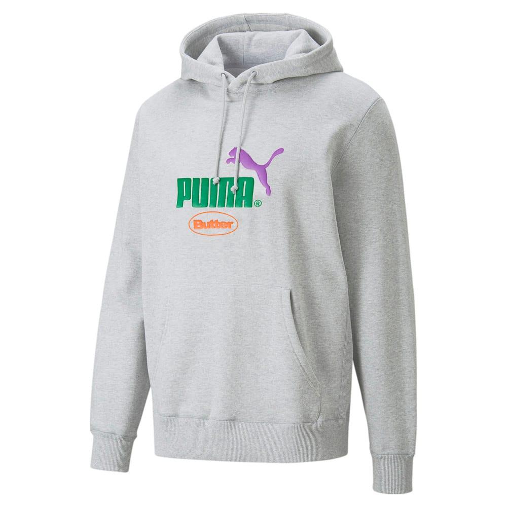 Изображение Puma Толстовка PUMA x BUTTER GOODS Hoodie #1: light gray heather