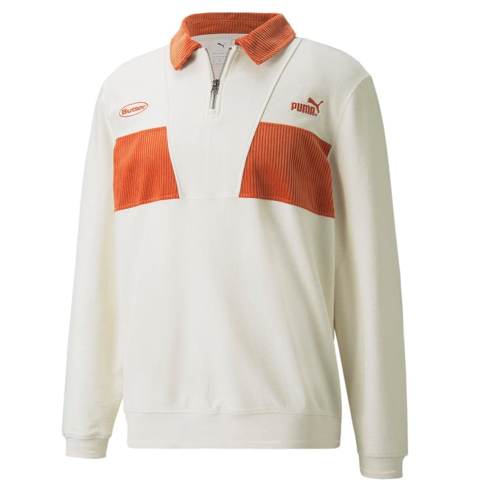 Зображення Puma Толстовка PUMA x BUTTER GOODS Quarter-Zip Sweater #1: whisper white