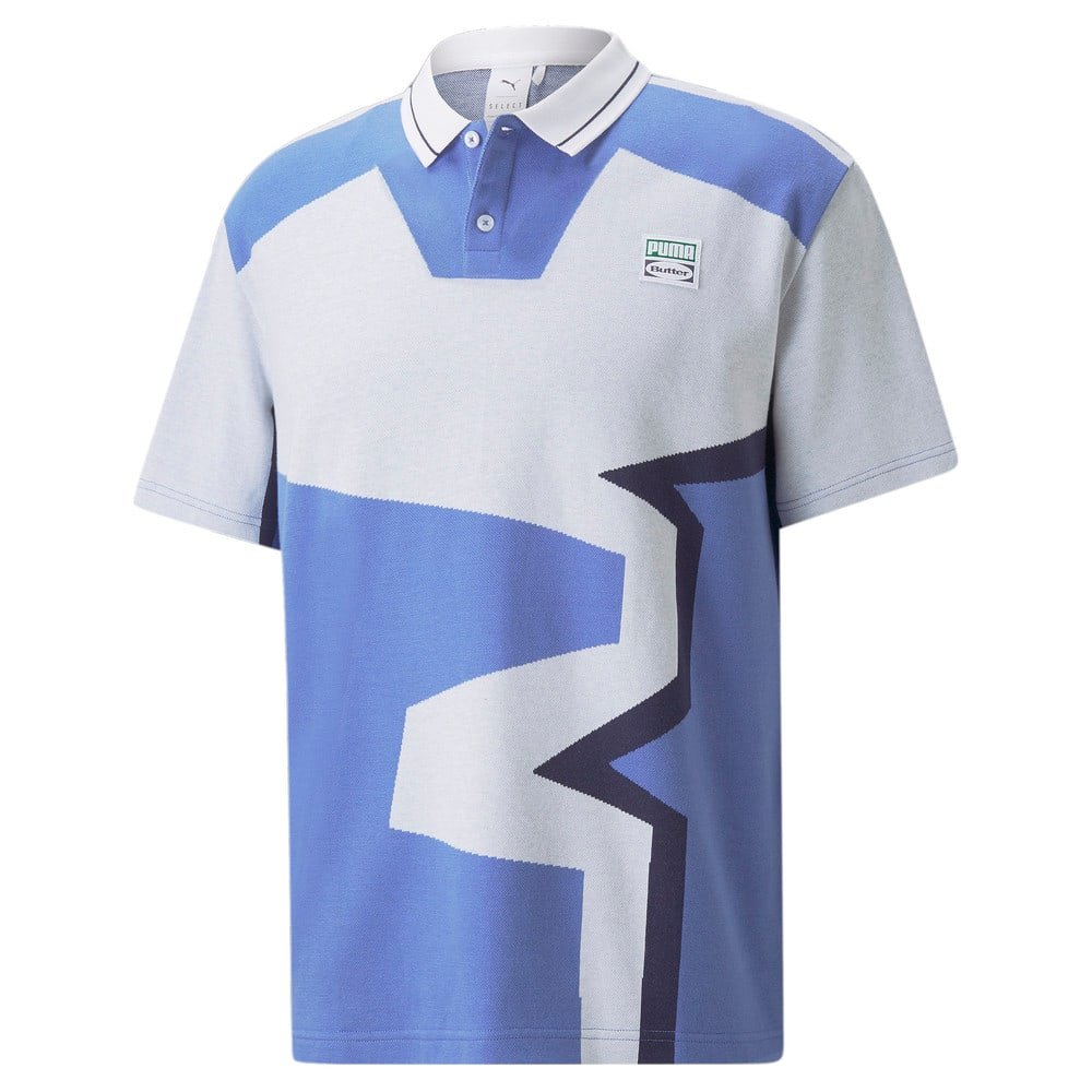 Image Puma PUMA x BUTTER GOODS Two-Button Polo Shirt #1