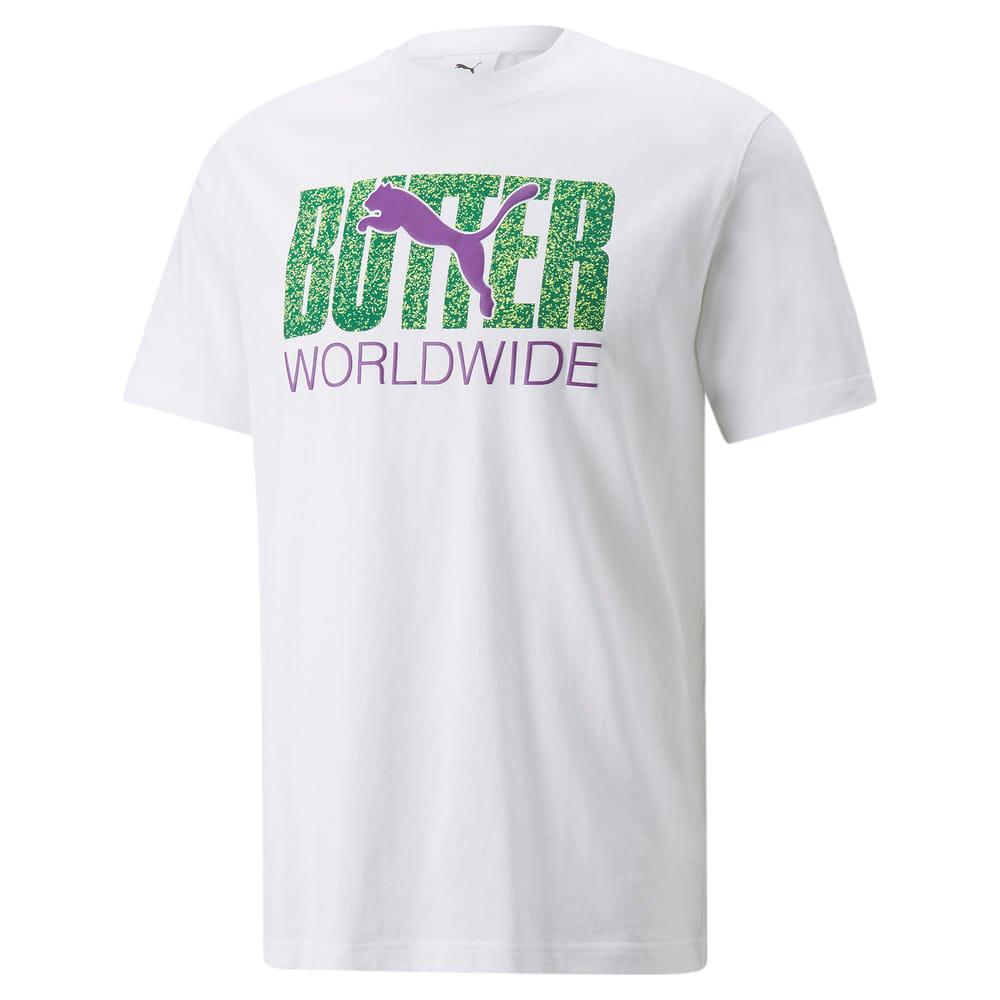 Зображення Puma Футболка PUMA x BUTTER GOODS Graphic Tee #1: Puma White-Sharp Green