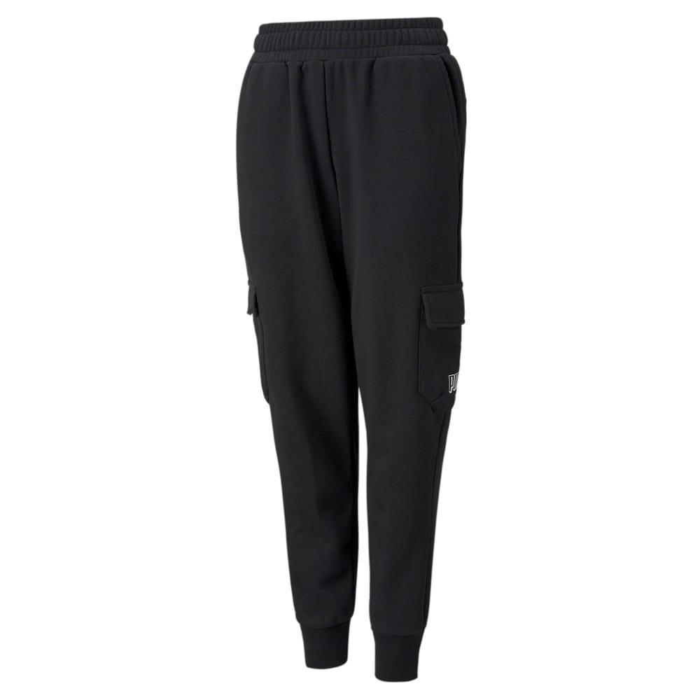 Зображення Puma Дитячі штани Alpha Youth Sweatpants #1: Puma Black