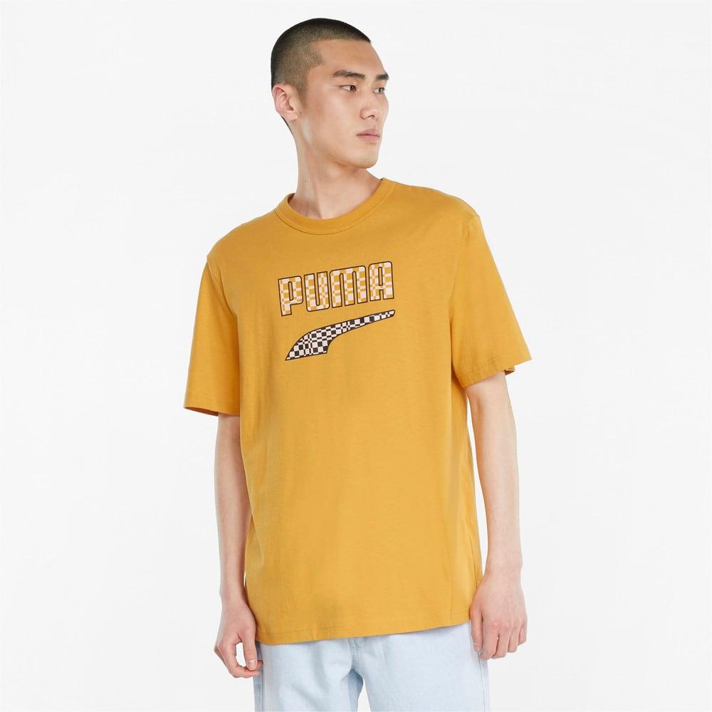 Зображення Puma Футболка Downtown Logo Men's Tee #1: Mineral Yellow