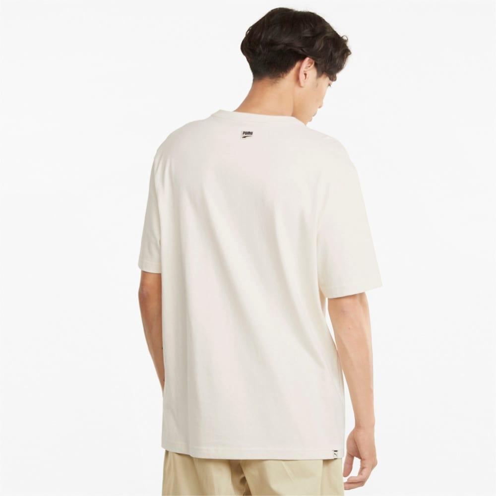 Зображення Puma Футболка Downtown Logo Men's Tee #2: Ivory Glow