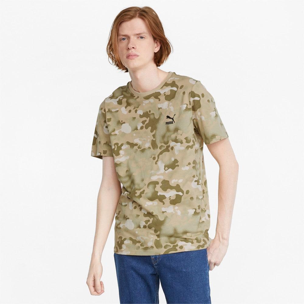 Görüntü Puma CLASSICS Grafik Baskılı Erkek T-shirt #1
