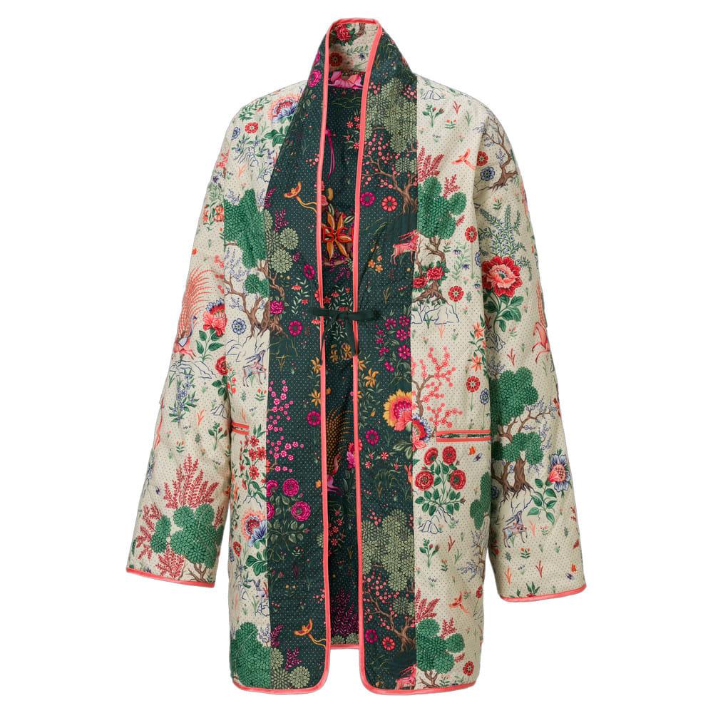 Изображение Puma Куртка PUMA x LIBERTY Printed Women's Kimono #2: Green Gables-AOP