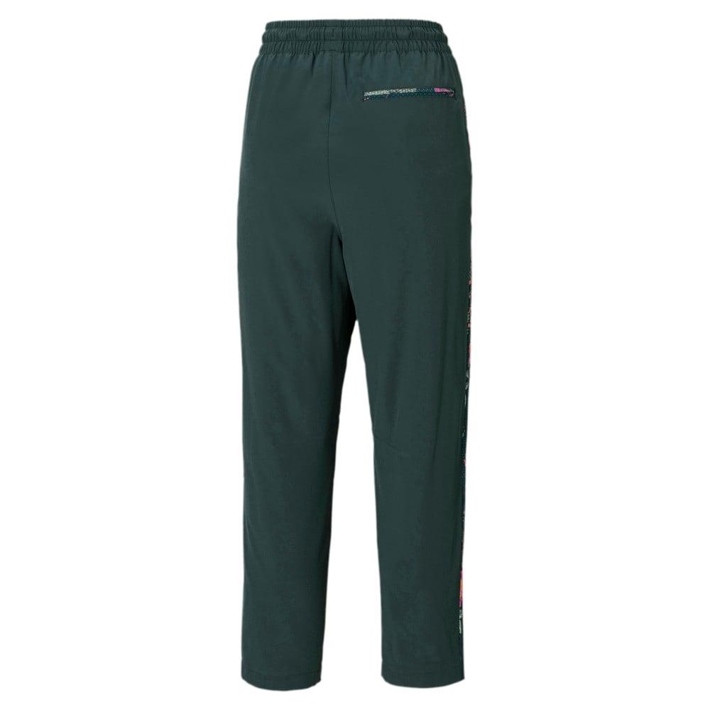 Изображение Puma Штаны PUMA x LIBERTY Printed Women's Track Pants #2: Green Gables