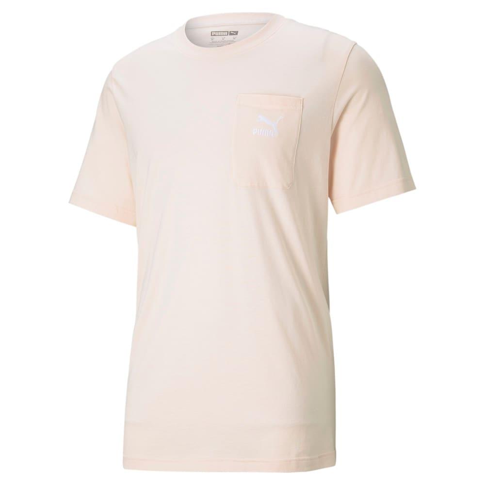 Изображение Puma Футболка Classics Pocket Men's Tee #1: Cloud Pink
