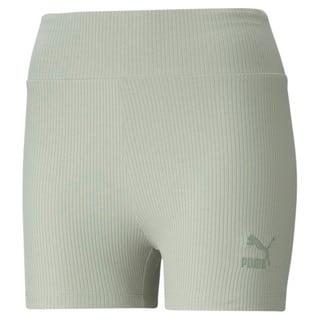 Изображение Puma Шорты Classics Women's Ribbed Short Leggings