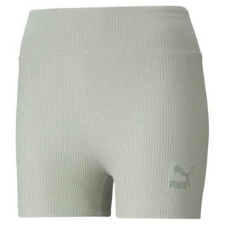 Изображение Puma Шорты Classics Women's Ribbed Short Leggings