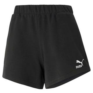 Imagen PUMA Shorts de cintura alta para mujer Classics