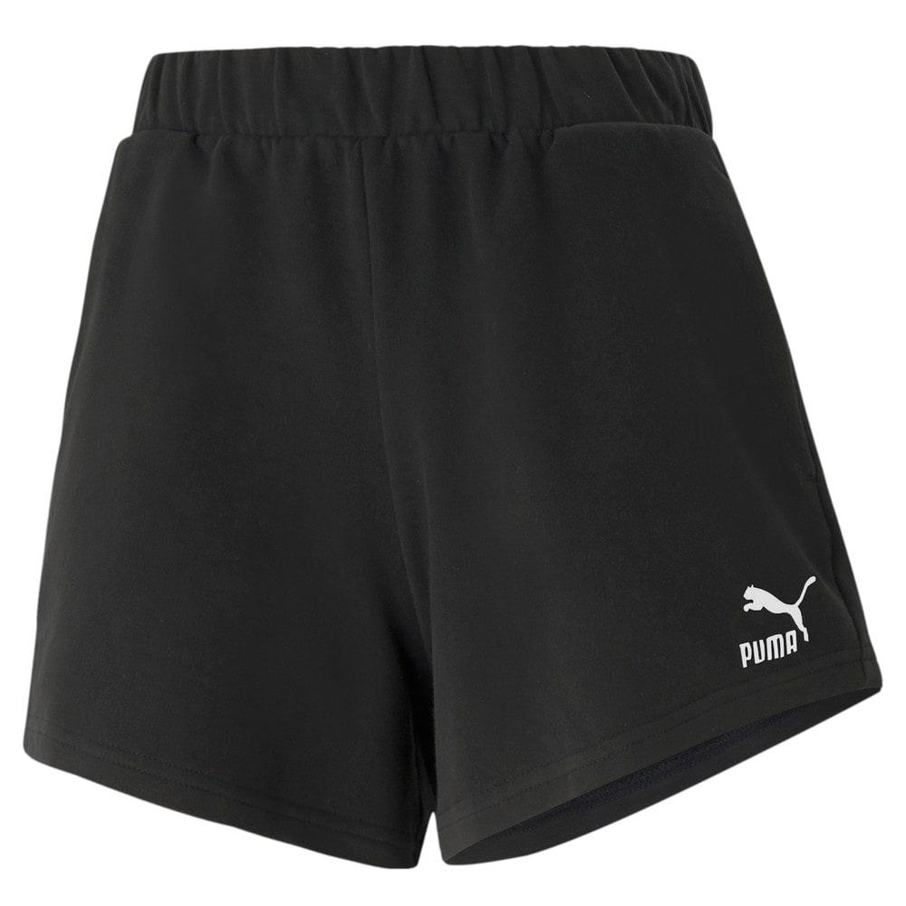 Изображение Puma Шорты Classics High Waist Women's Shorts #1: Puma Black