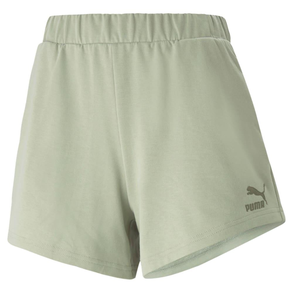 Изображение Puma Шорты Classics High Waist Women's Shorts #1: Desert Sage