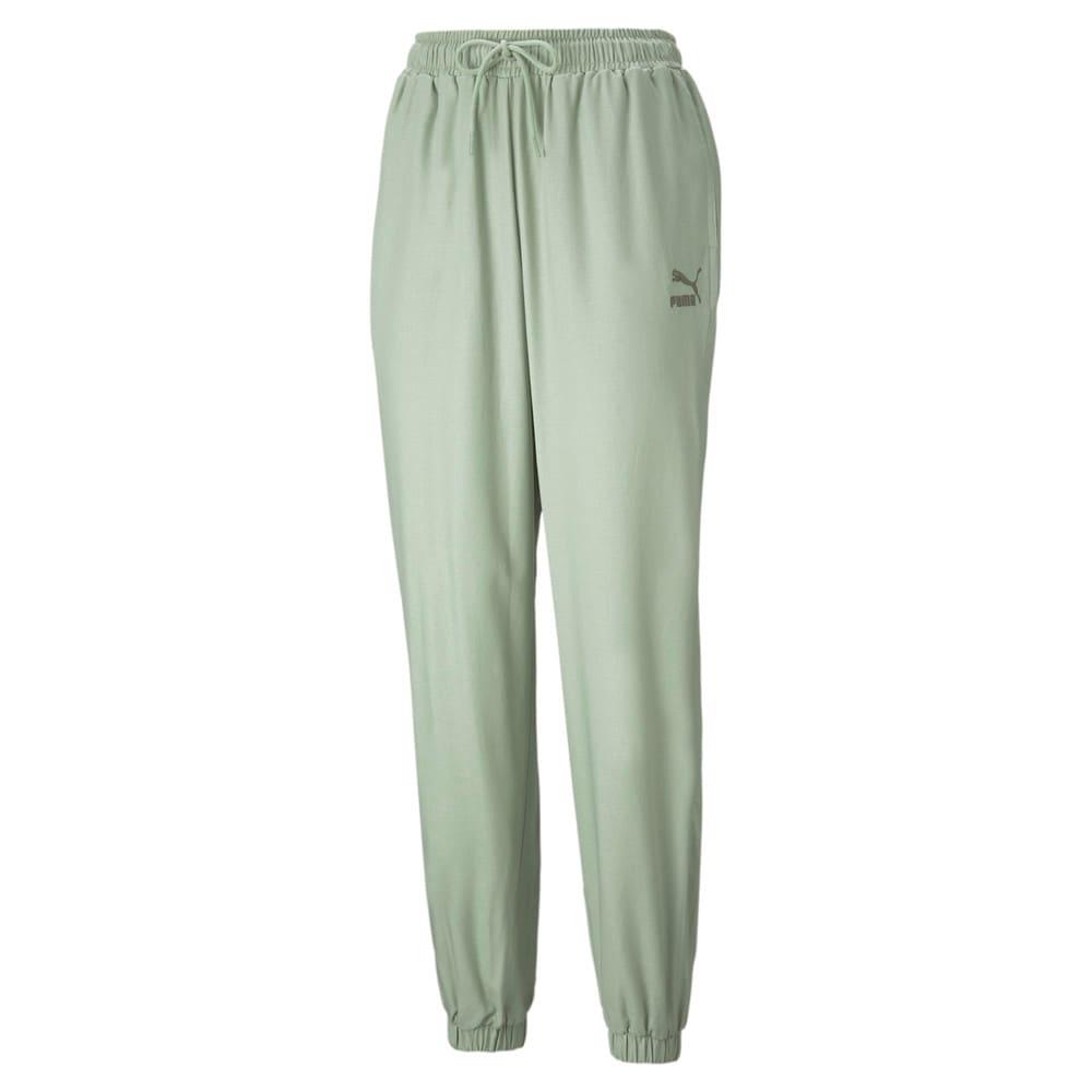 Изображение Puma Штаны Classics Lounge Women's Pants #1: Desert Sage