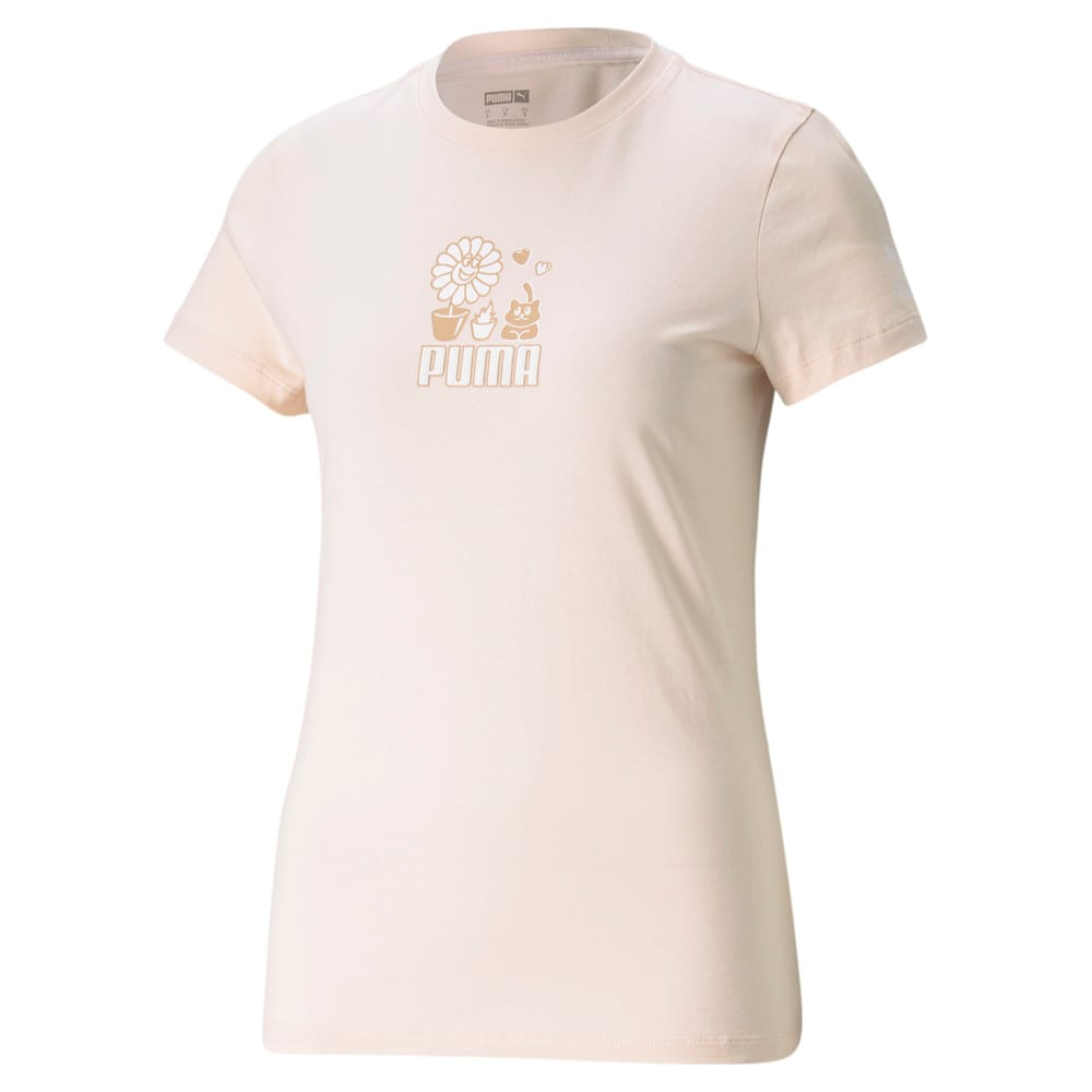 Изображение Puma Футболка Graphic Streetwear Women's Tee #1