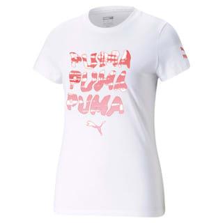 Изображение Puma Футболка Graphic Streetwear Women's Tee
