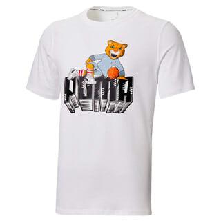 Image Puma Dylan Short Sleeve Men's Basketball Tee