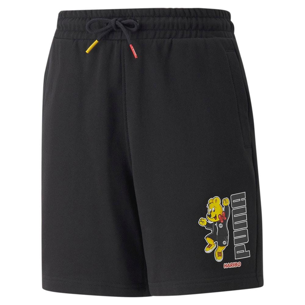 Изображение Puma Детские шорты PUMA x HARIBO Youth Shorts #1