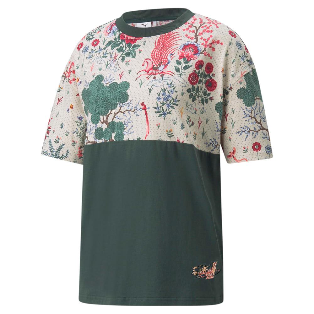 Image PUMA PUMA x LIBERTY Camiseta Printed Feminina #1
