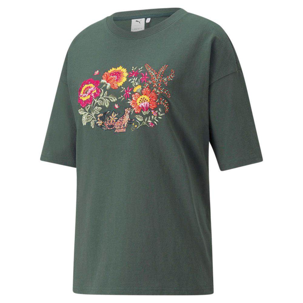 Image PUMA PUMA x LIBERTY Camiseta Graphic Feminina #1