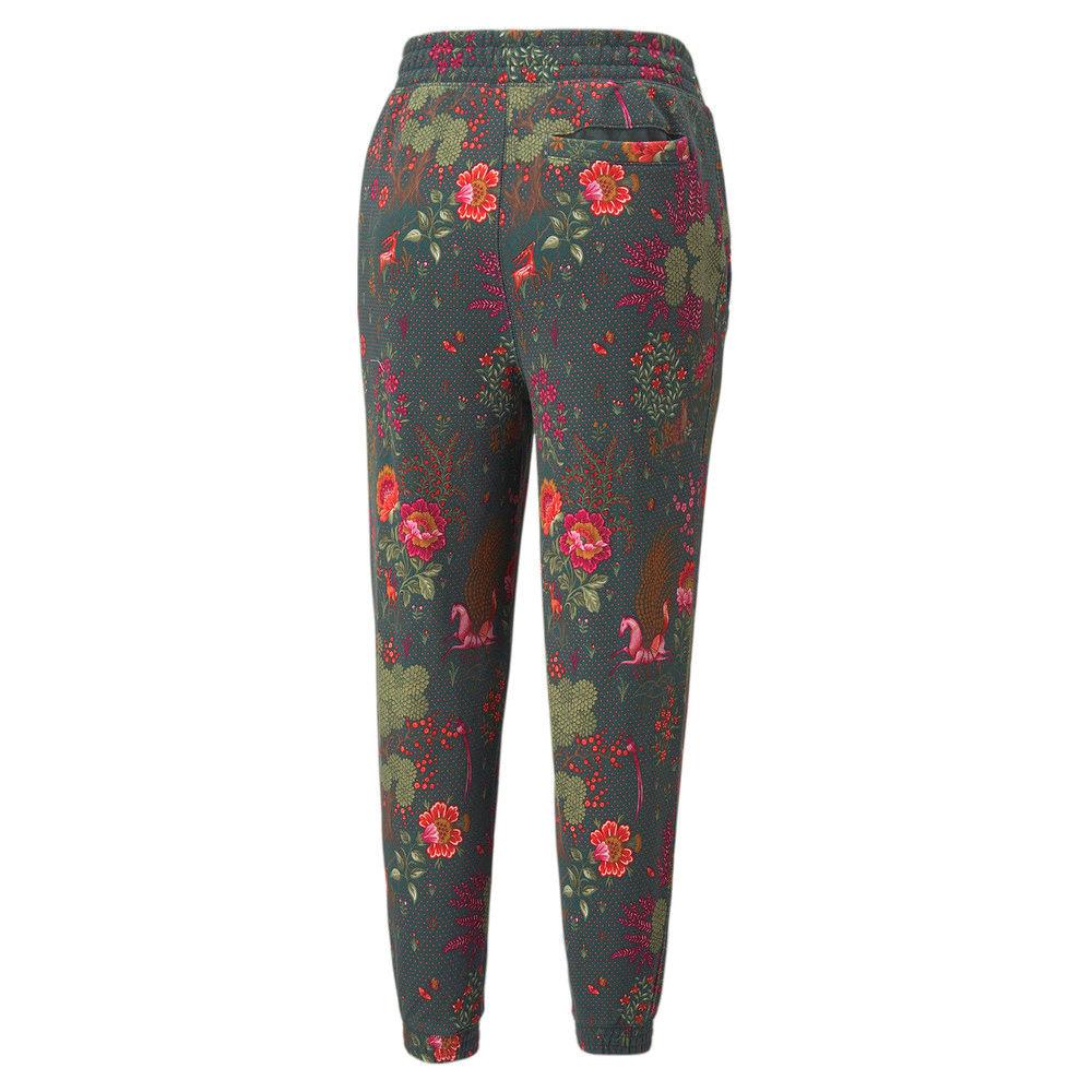 Зображення Puma Штани PUMA x LIBERTY Printed Women's Sweatpants #2: Green Gables