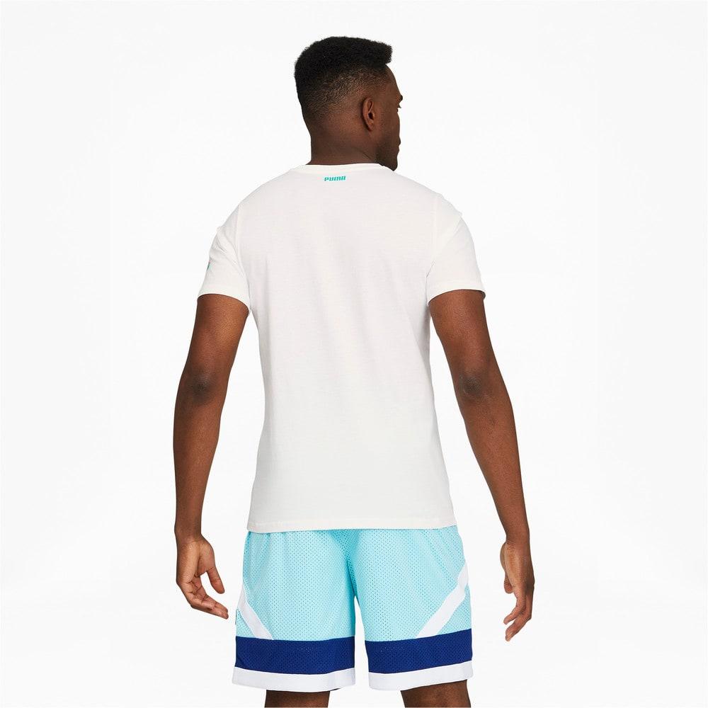 Görüntü Puma 2K Dylan Erkek Basketbol T-shirt #2