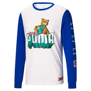 Image Puma 2K Long Sleeve Men's Basketball Tee