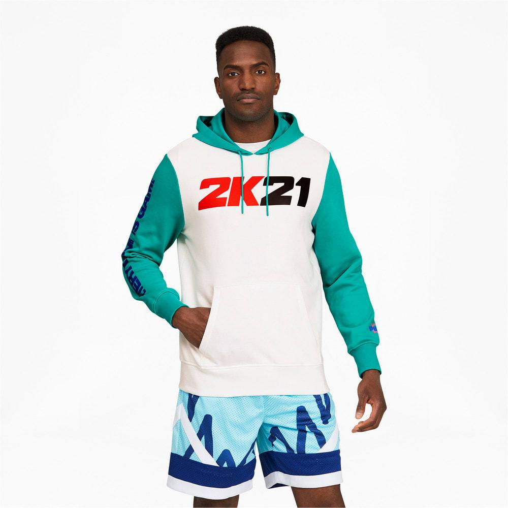 Görüntü Puma 2K Erkek Basketbol Kapüşonlu Sweatshirt #1