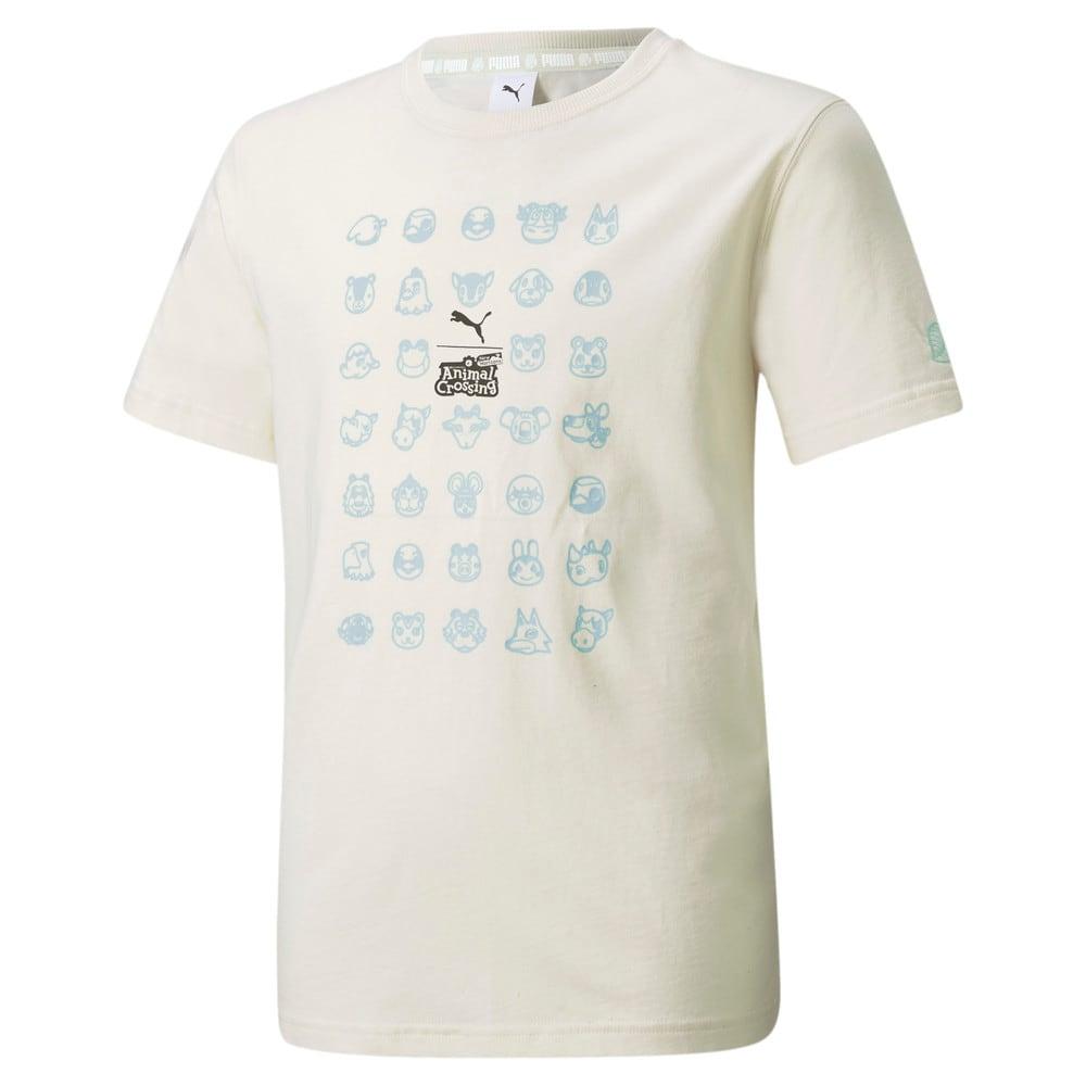 Изображение Puma Детская футболка PUMA x ANIMAL CROSSING Youth Tee #1