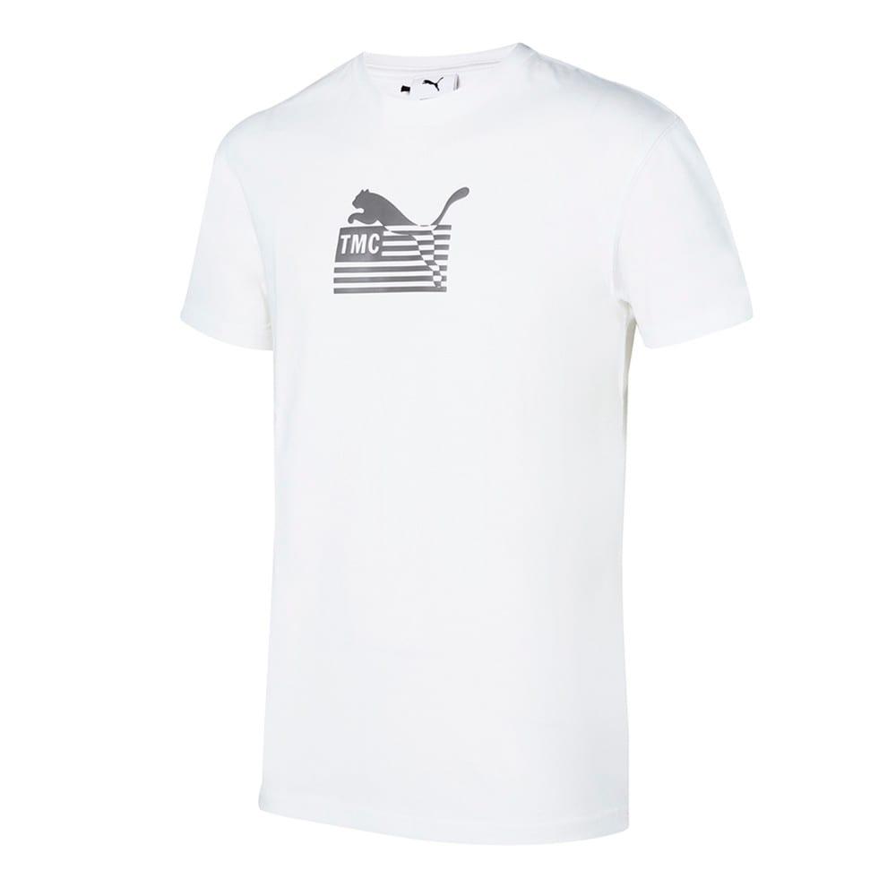 Image Puma PUMA x FIRST MILE Hussle Way Logo Men's Basketball Tee #1