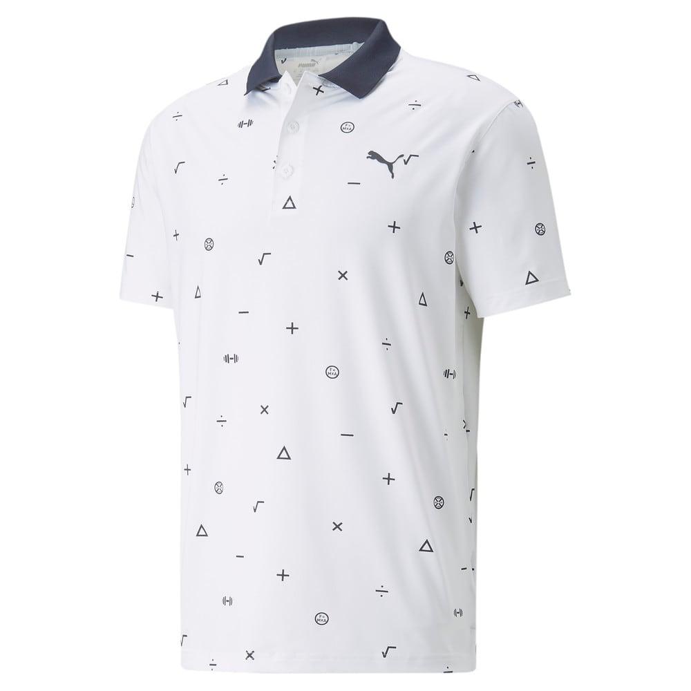 Image Puma MATTR Science Men's Golf Polo Shirt #1