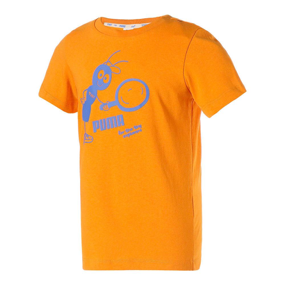 Зображення Puma Дитяча футболка PUMA x TINYCOTTONS Kids' Tee #1: Sunflower