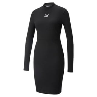 Зображення Puma Плаття Classics Ribbed Long Sleeve Women's Dress