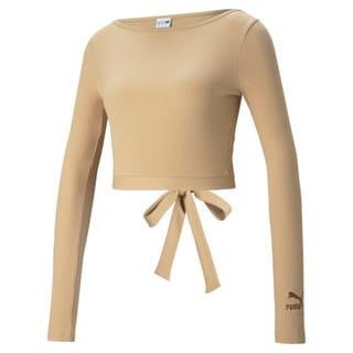 Зображення Puma Топ Classics Ribbed Long Sleeve Women's Top