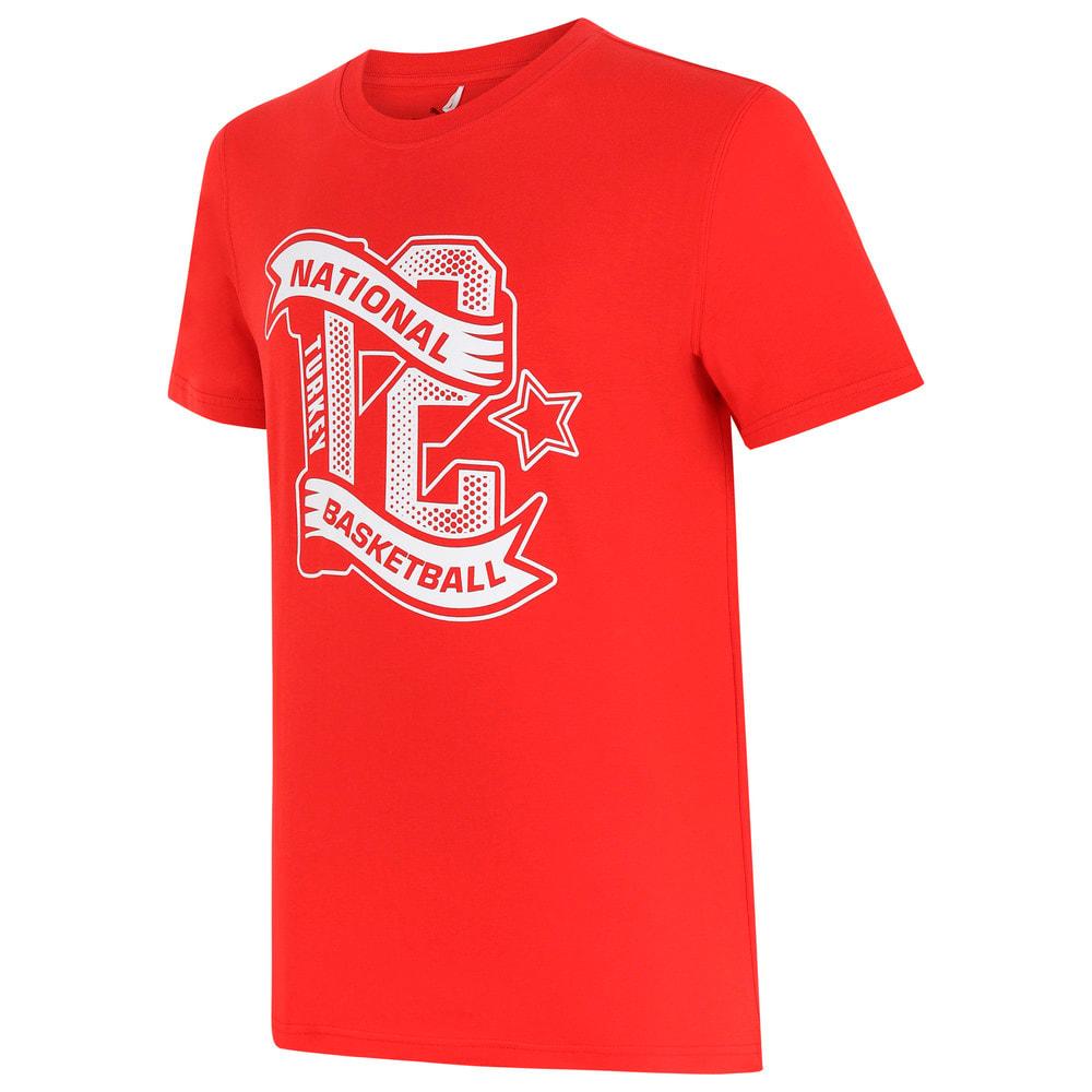 Görüntü Puma Türkiye Basketbol Milli Takım Fan T-shirt #1